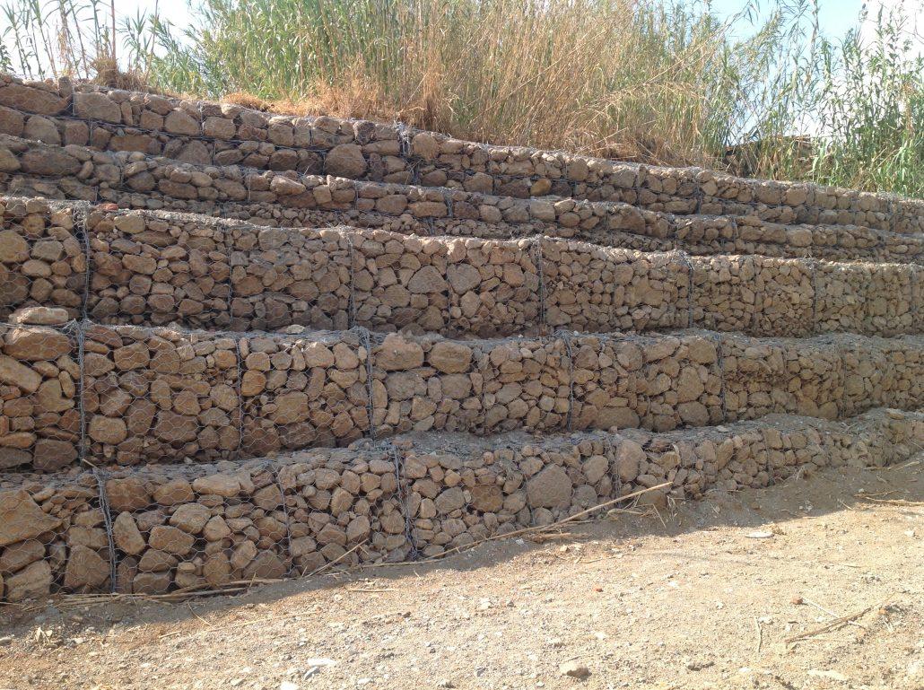 Gaviones precio gaviones para piedras xx cm decoracin for Gaviones de piedra